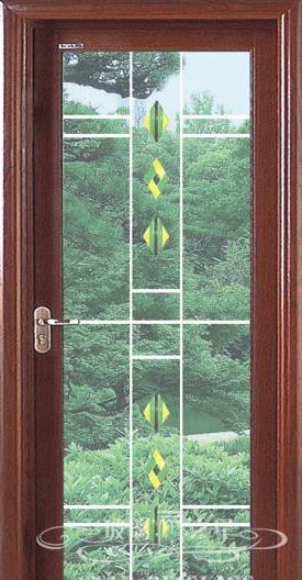 高级玻璃推拉门图片