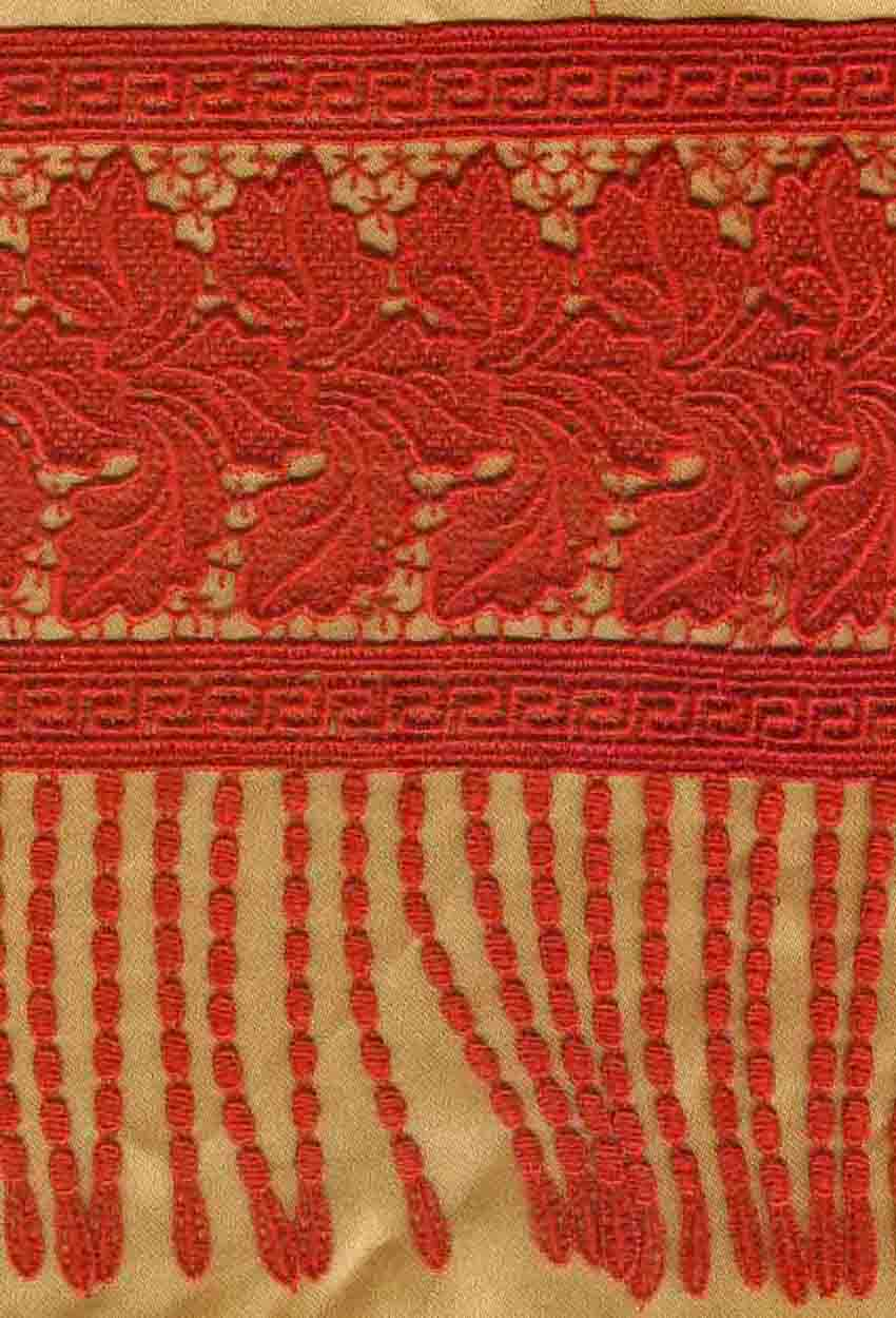 专业生产刺绣花边:棉线花边