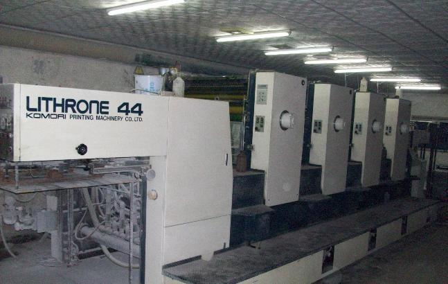 印刷机电路维修 小森印刷机