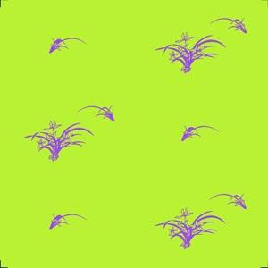 中式花纹淡绿色墙壁纸
