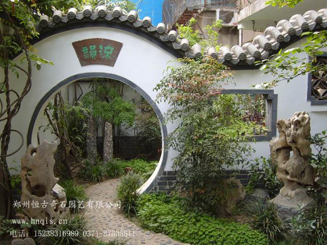 郑州古典庭院设计