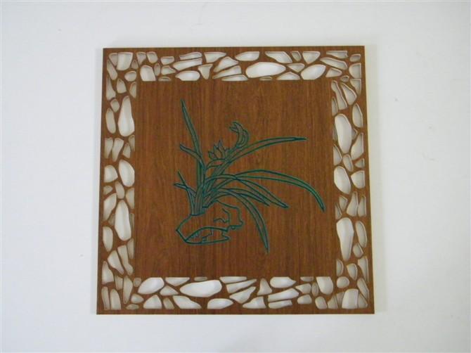 木雕中堂图案