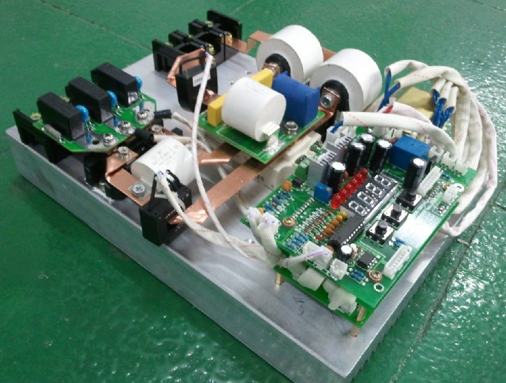 三相半桥30kw电磁加热器/电磁加热控制器/电磁加热 (图);; 10kw搭桥1