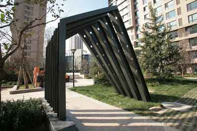郑州钢结构景观小品 龙