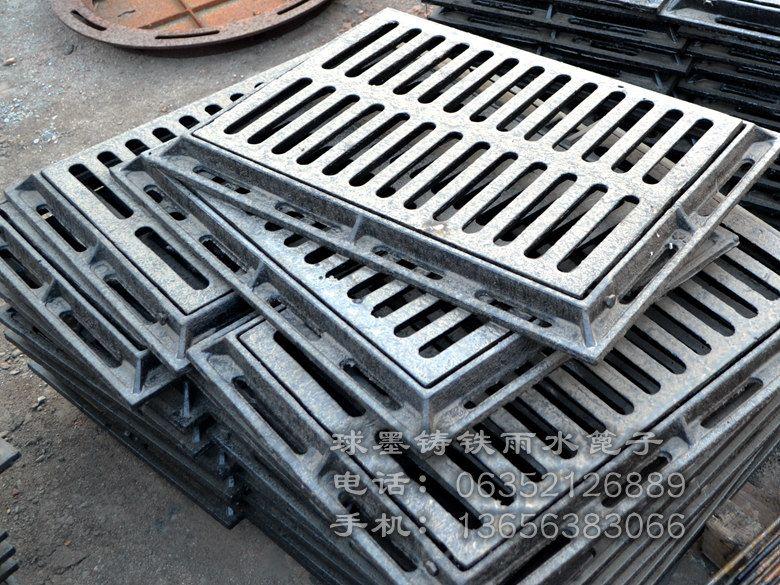 铸铁偏沟式多篦雨水口400x500x40_鸿福管业图片