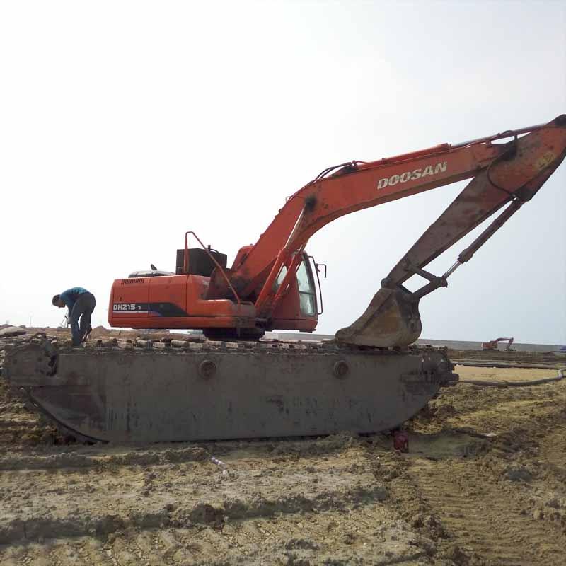 贵州黔西北施秉水陆两栖支挖机厂家