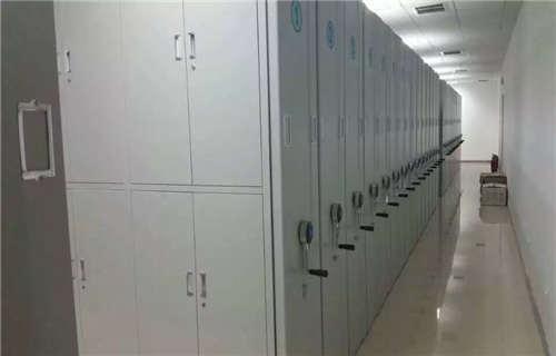 杨浦区档案局用智能型密集架增添
