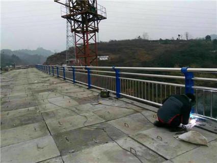 宜兴不锈钢桥梁护栏来图定做