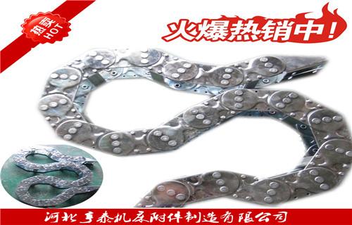 四平线槽钢制拖链规格