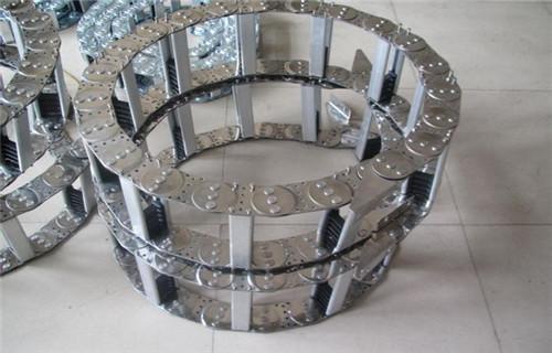 济南柔性拖链工程塑料拖链制造