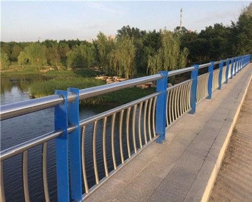 运城桥梁景观不锈钢栏杆加工
