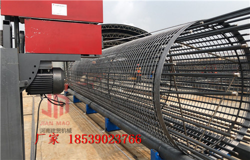 厂家供应蚌埠钢筋笼缠绕机一次成型