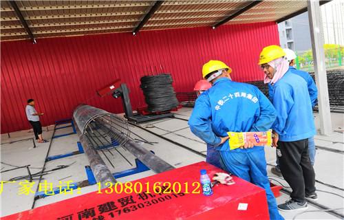 南宁【建贸机械】钢筋笼缠绕成型机口碑厂家