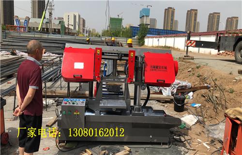 牡丹江【建贸机械】钢筋带锯床行业标杆