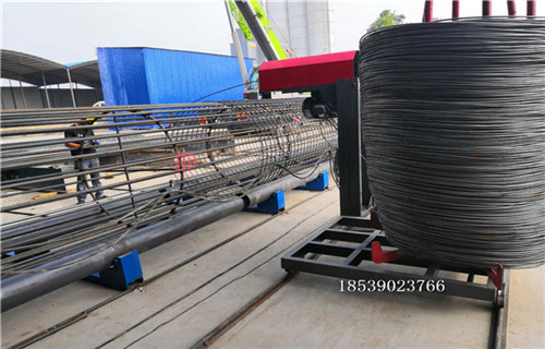 鄂州钢筋笼绕筋机供应