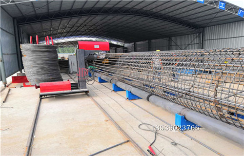 大兴安岭地区做钢筋笼的机器价格