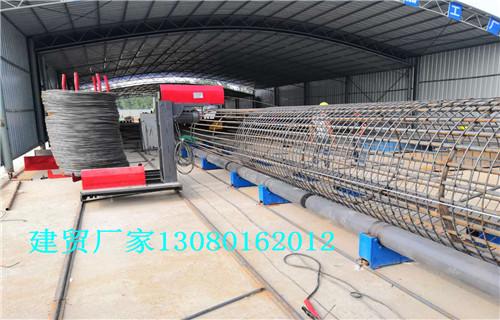 黑龙江钢筋笼滚笼机技术交流