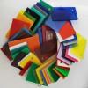 彩色亞克力板定做透明有機玻璃板加工塑料整板定制有機板切割雕刻