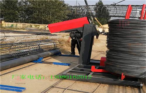 钢筋笼滚笼机应用简介广东汕尾
