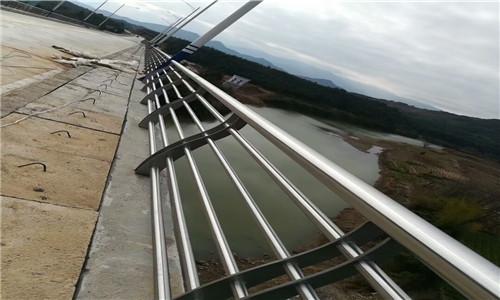 驻马店河道防护不锈钢栏杆多少米一节