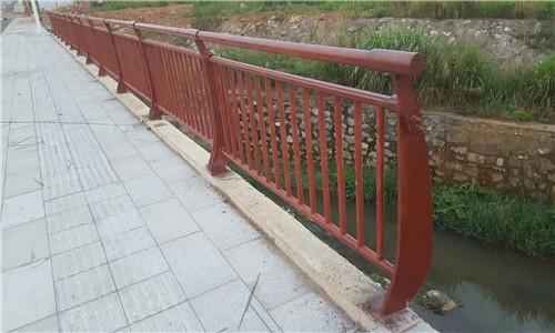 三明人行道隔离栏杆来图定制加工