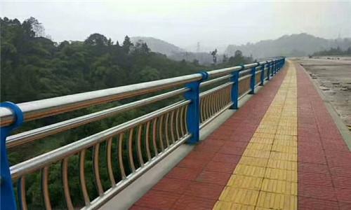 烏蘭察布橋梁景觀不銹鋼欄桿全國供貨