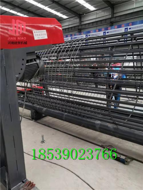 钢筋笼地滚机技术太赞迪庆盘笼机