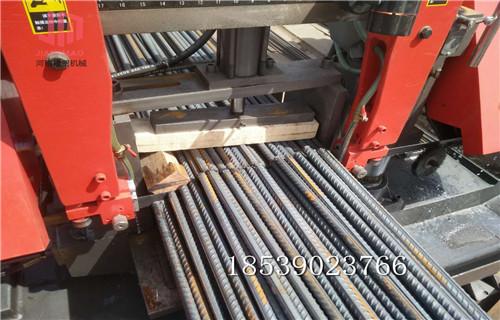 白城整捆鋼筋鋸切設備停機分析--廠商