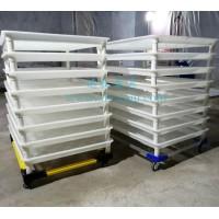 蚕具饲养小蚕专用小蚕共育车塑料蚕匾蚕箔小蚕共育盒共育设备