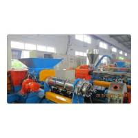 提供全新二手江蘇硅灰石填充母料造粒機塑料造粒設備全套