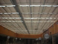 量大从优 FCS折叠式电动遮阳天棚帘体育馆采光顶部