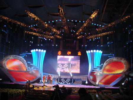 郑州舞台音响灯光