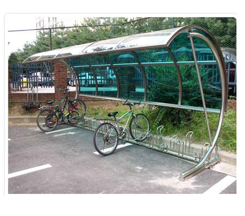 郑州电动车棚厂家图片